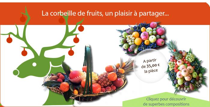La corbeille de fruits, un plaisir à partager...